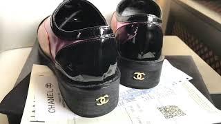 Туфли лакированные