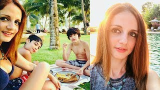 Hrithik Roshan Ex Wife Sussanne Khan Enjoying Spring Vacation In Goa With Family   Sussanne Khan