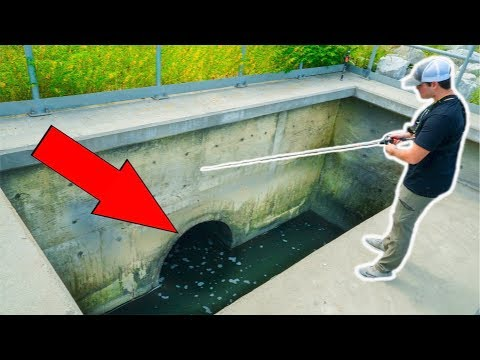 Fishing HIDDEN Storm Drains!!! (Surprise Catch)