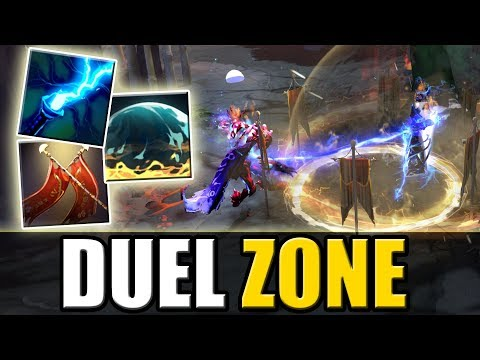 Duel + Magnetic Field + Static Link [Magnetic Duel Zone] Dota 2 Ability Draft