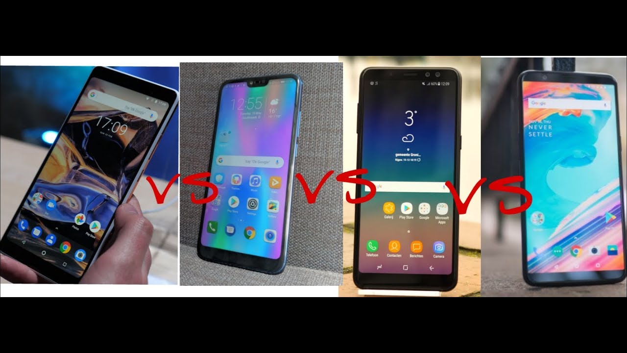 Samsung Galaxy A8+ vs OnePlus 6 vs Honor 10  vs Nokia 7 Plus  Battery Test!
