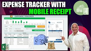How To Create This Excel Expense Tracker With Mobile Receipt Upload From Scratch [Free Download]