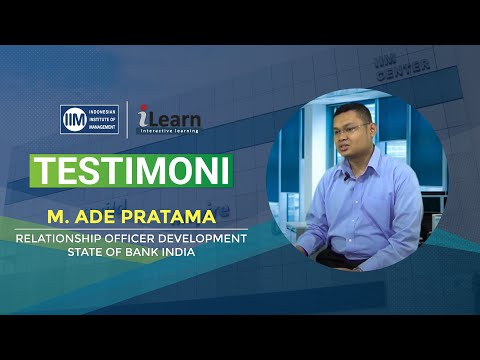 VIDEO TESTIMONI - Muhamad Ade Pratama ( Relationship Officer Development State of Bank India )