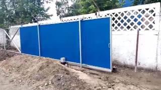 Откатные ворота от  www.vorotas.com.ua(, 2017-05-29T17:49:27.000Z)
