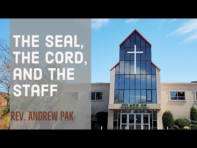 The seal, the cord, and the staff | Lord's Day | 10/4/2020