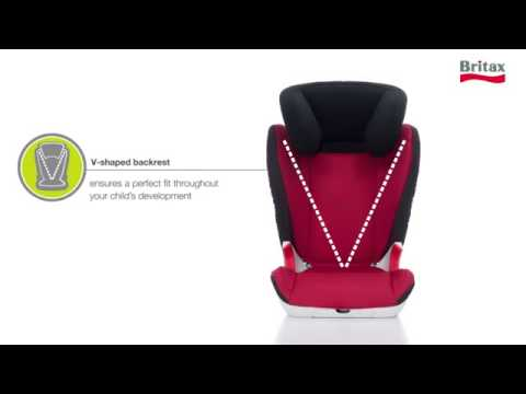 britax r mer kid ii kindersitz 15 36 kg gruppe 2 3 youtube. Black Bedroom Furniture Sets. Home Design Ideas