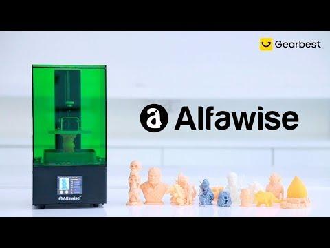 Alfawise W10 LCD SLA Resin 3D Printer - Gearbest.com
