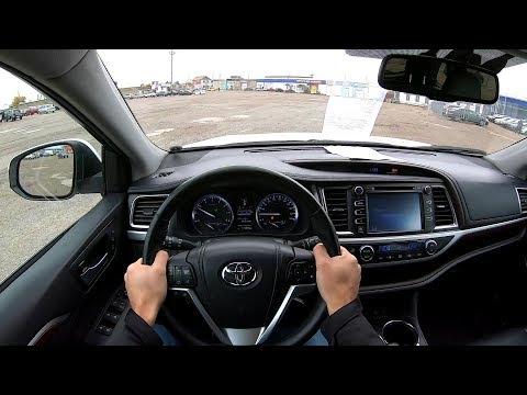 2014 TOYOTA HIGHLANDER 3.5L (249) POV TEST DRIVE