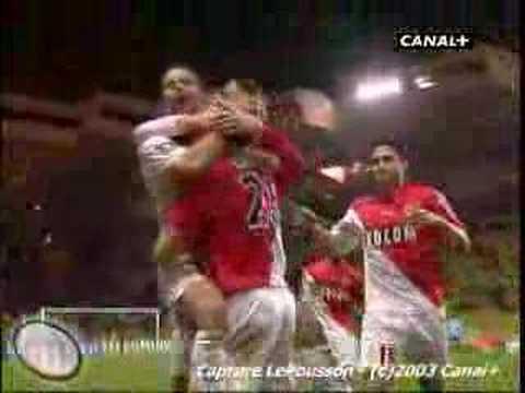 Giuly - Monaco  vs Lens