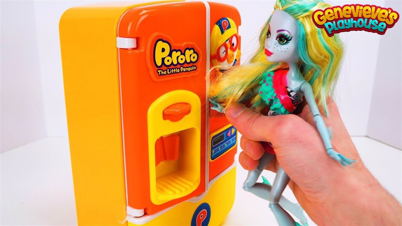 Teach Kids Food Names With Pororo Refrigerator And Paw