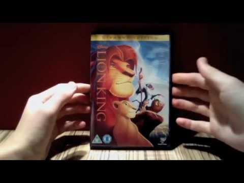 Unboxing Of Lion King Diamond Edition Dvd Uk Youtube