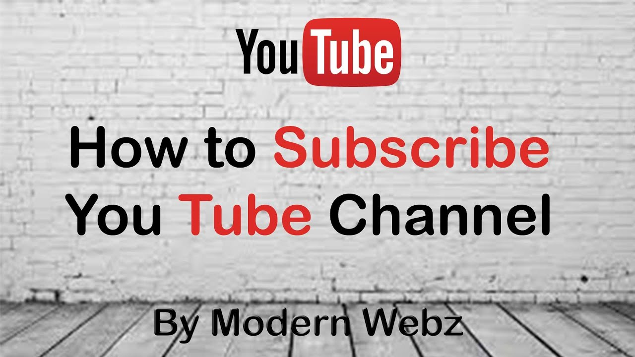How to subscribe You Tube channel in Hindi | You Tube ...