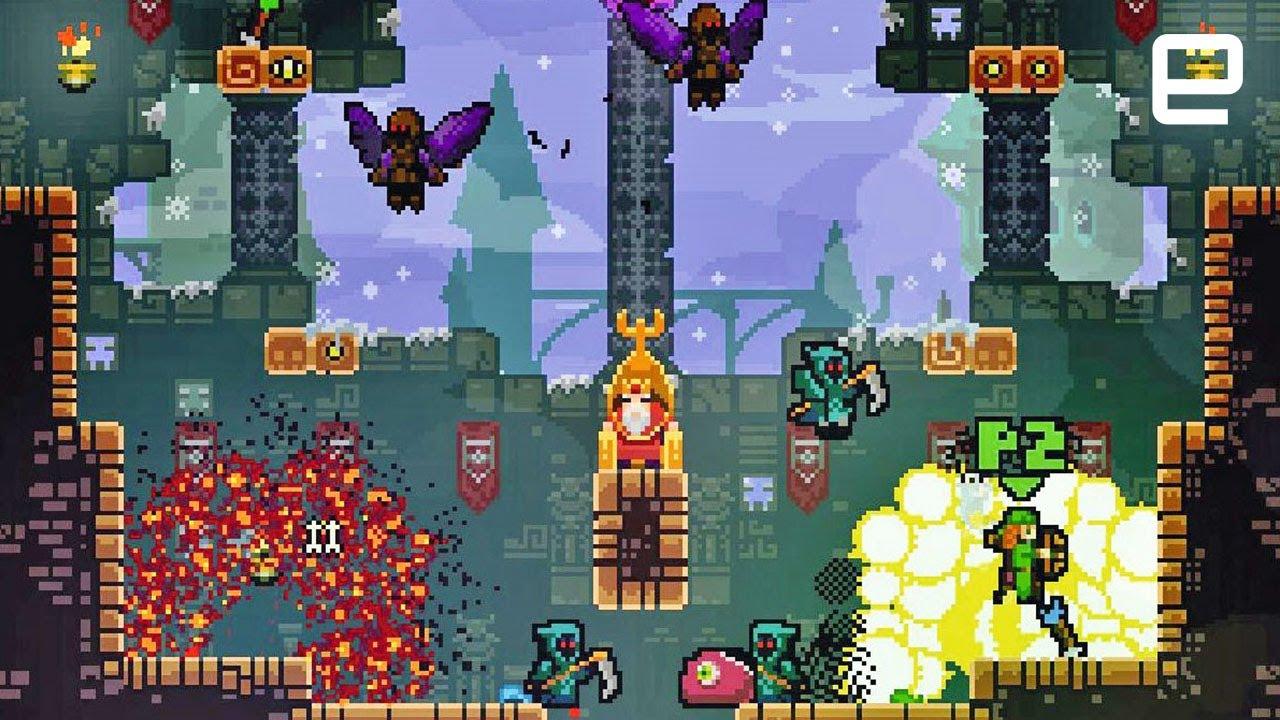TowerFall gameplay | E3 2017 - YouTube