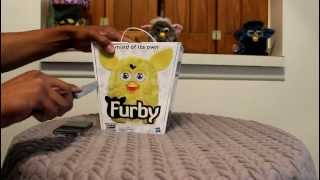 New Furby 2012 unboxing in depth detailed review part 1/2