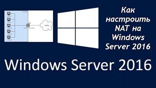 Як налаштувати NAT в Windows Server 2016
