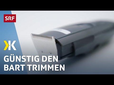 Bart-Trimmer Im Test: Wider Das Zupfen Und Reissen | 2018 | SRF Kassensturz