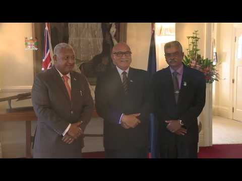 Fijian President officiates the Swearing-In Ceremony for Assistant Minister Hon. Viam Pillay