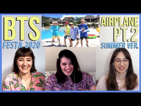 BTS – FESTA 2020 AIRPLANE PT.2 SUMMER VER. REACTION