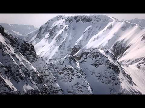 Big mountain free skiing competition - Red Bull Cold Rush 20