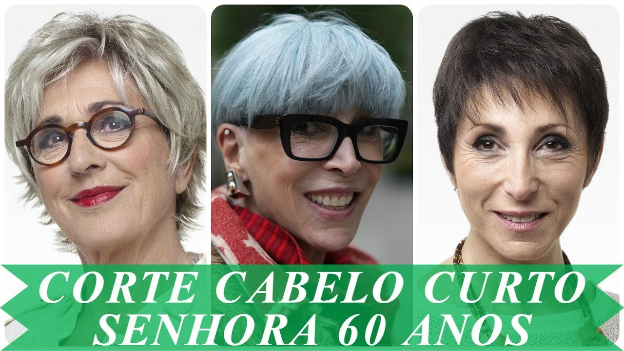 Tendencia Cabelos Curtos Para Senhoras Acima De 60 Anos Primavera 2018