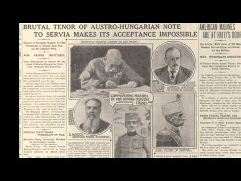 23rd July 1914: Austria-Hungary presents ultimatum to Serbia