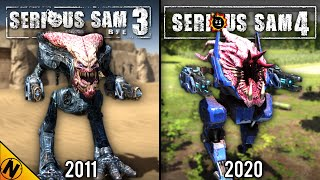 Serious Sam 4 vs Serious Sam 3 | Direct Comparison