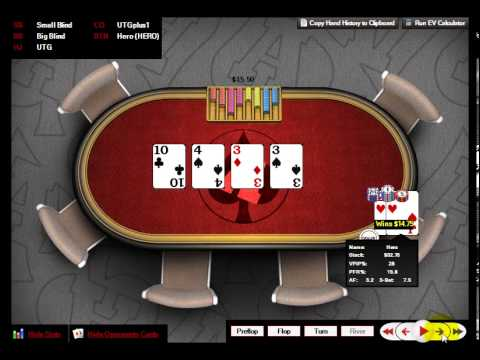 Poker Lessons Leak Buster Floating A Flop Check Raise Profitably