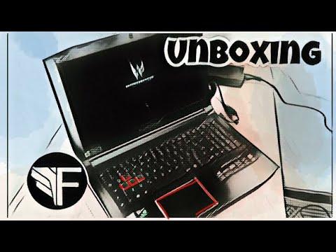 Notebook Gamer Acer Predator Helios 300 unboxing