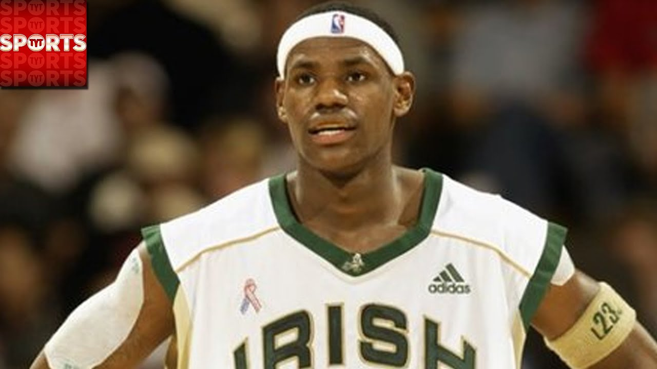 Lebron James And Steph Curry Balled In High School Youtube