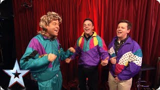 FIRST LOOK Ant amp Dec and Stephen throwback to the 80s  BGMT 2019