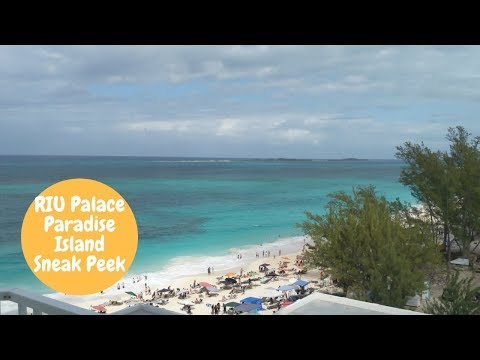 RIU Palace Paradise Island All Inclusive Bahamas Resort Tour