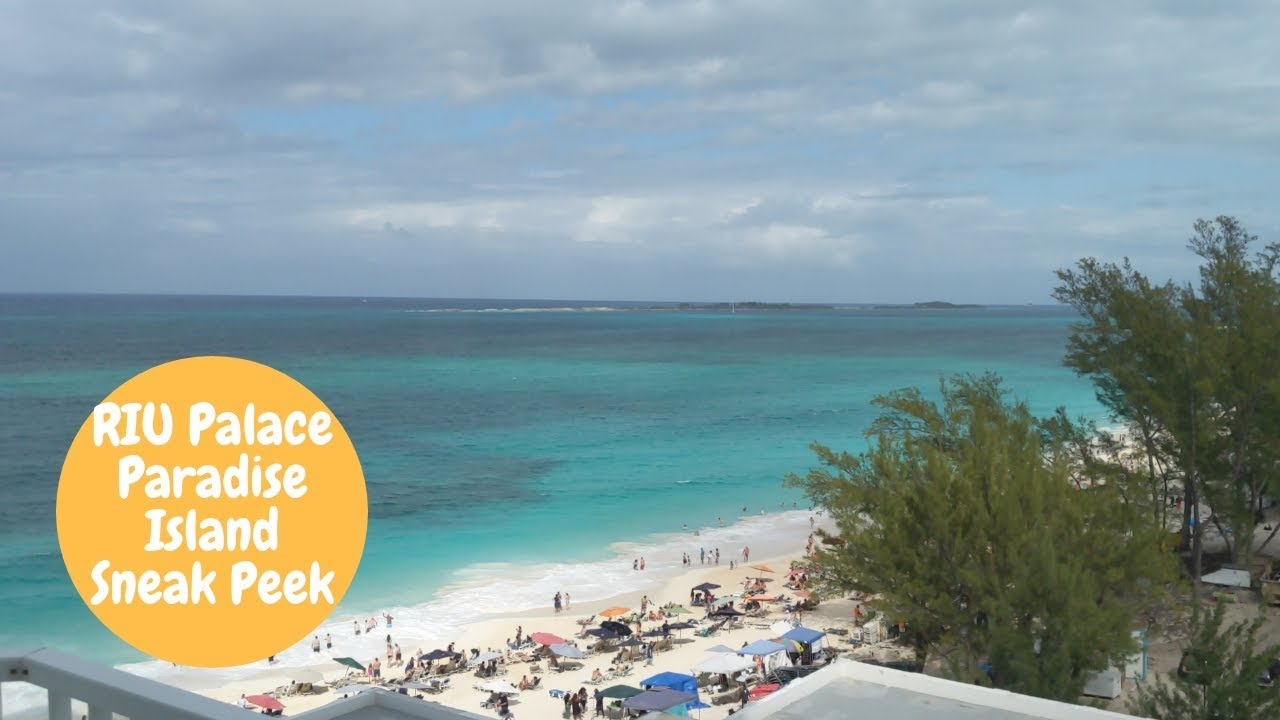 Riu Palace Paradise Island All Inclusive Bahamas Resort Tour Youtube