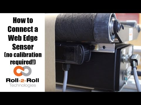 How to Connect a Web Edge Sensor with no Calibration