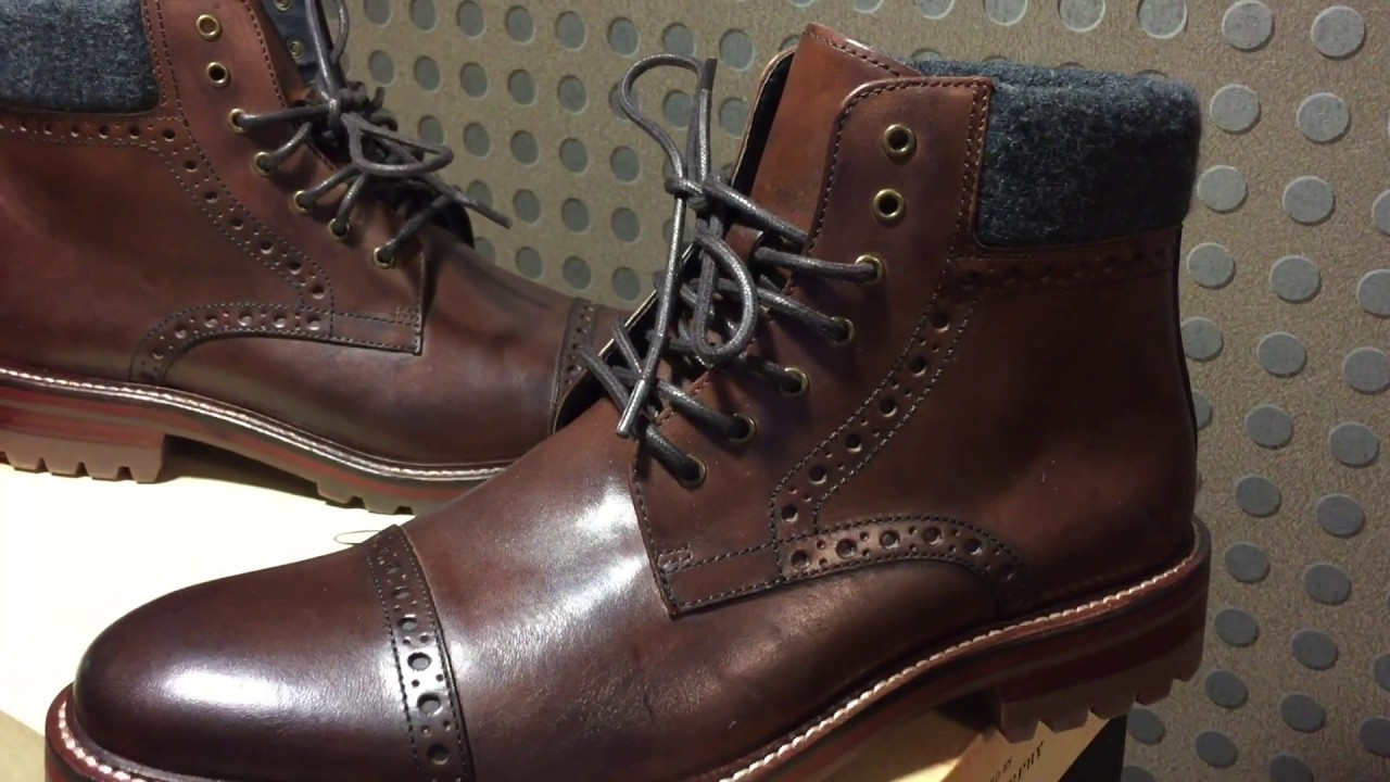 30badf98b97 Johnston & Murphy Cap Toe Boot