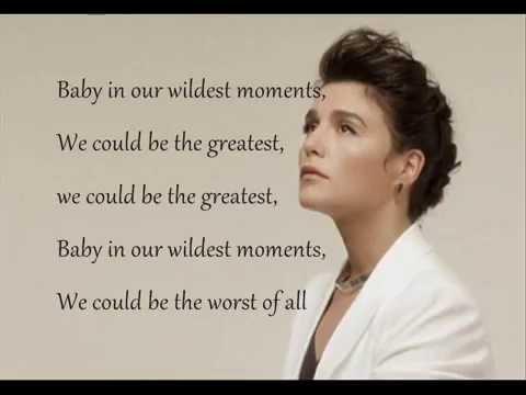 Jessie Ware - Wildest Moments Lyrics