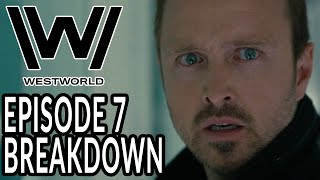WESTWORLD Season 3 Episode 7 Breakdown, Theories, and Details You Missed! Caleb's Past Revealed
