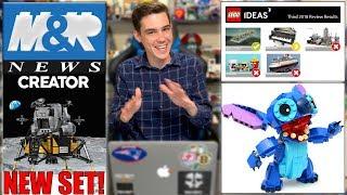 LEGO RESPONDED! The NEXT LEGO Ideas Set! LEGO Lunar Lander Set Coming...   LEGO NEWS