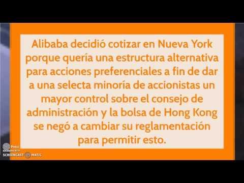 Qué impacto tuvo el IPO de Alibaba?