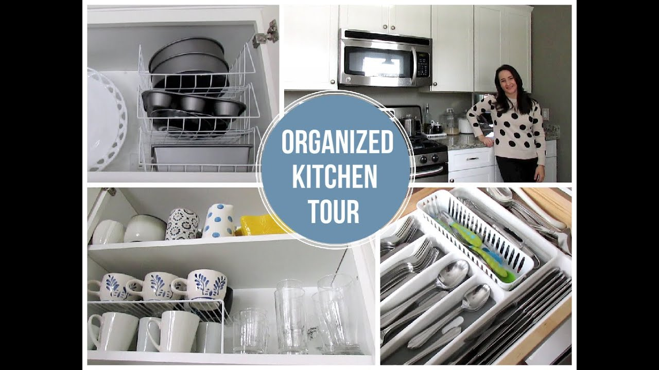 For Organizing Kitchen Organized Kitchen Tour On A Budget Favorite Organized Space
