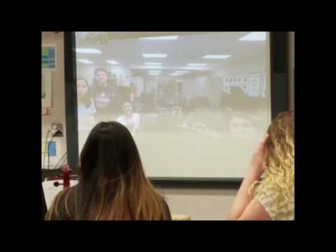 Harmony Magnet Academy Orchestra Skype session