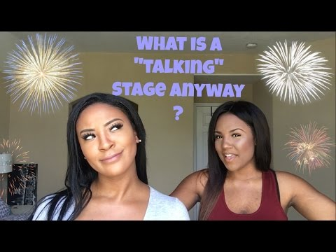 "The ""Talking"" Stage 