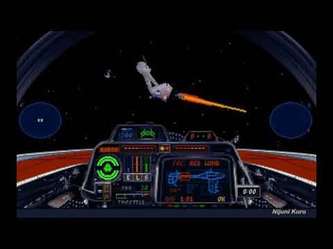 Star Wars: X-Wing (DOS) - A-Wing Vs Frigate (T4M1, No Missiles)
