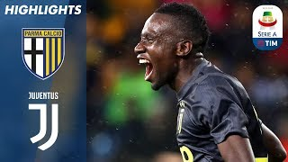 Parma 1-2 Juventus | Matuidi Scores the Winner for Juve! | Serie A