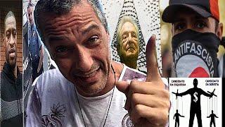 George Floyd-Soros, Antifas e a Direita Brasileira