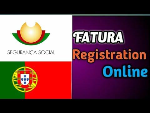 How to register e- fatura invoices online|| portugal ||तपाईकाे fatura registration बिवर्ण हर्नुहाेस!