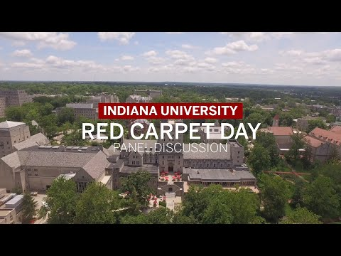 IU Bloomington Red Carpet Day 2020 Panel