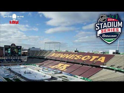 CHI vs MIN 2016 NHL Stadium Series Review