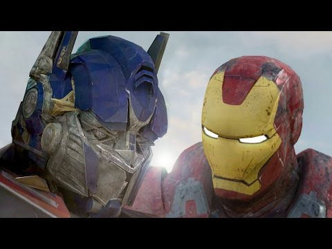 IRONMAN vs OPTIMUS PRIME