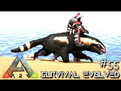 ARK: SURVIVAL EVOLVED - NEW PURLOVIA TAME & TEK ORIGINATOR !!! E55 (MODDED ARK EXTINCTION CORE)