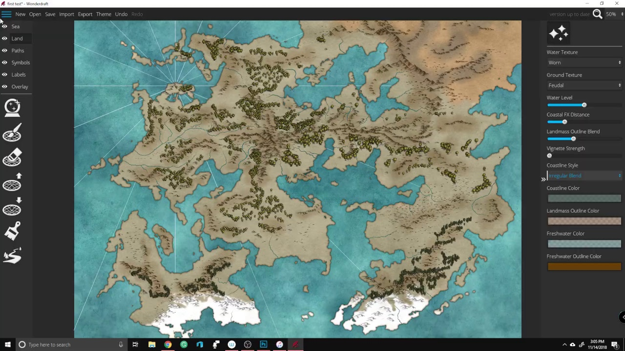 Creating Fantasy Maps With Wonderdraft - YouTube